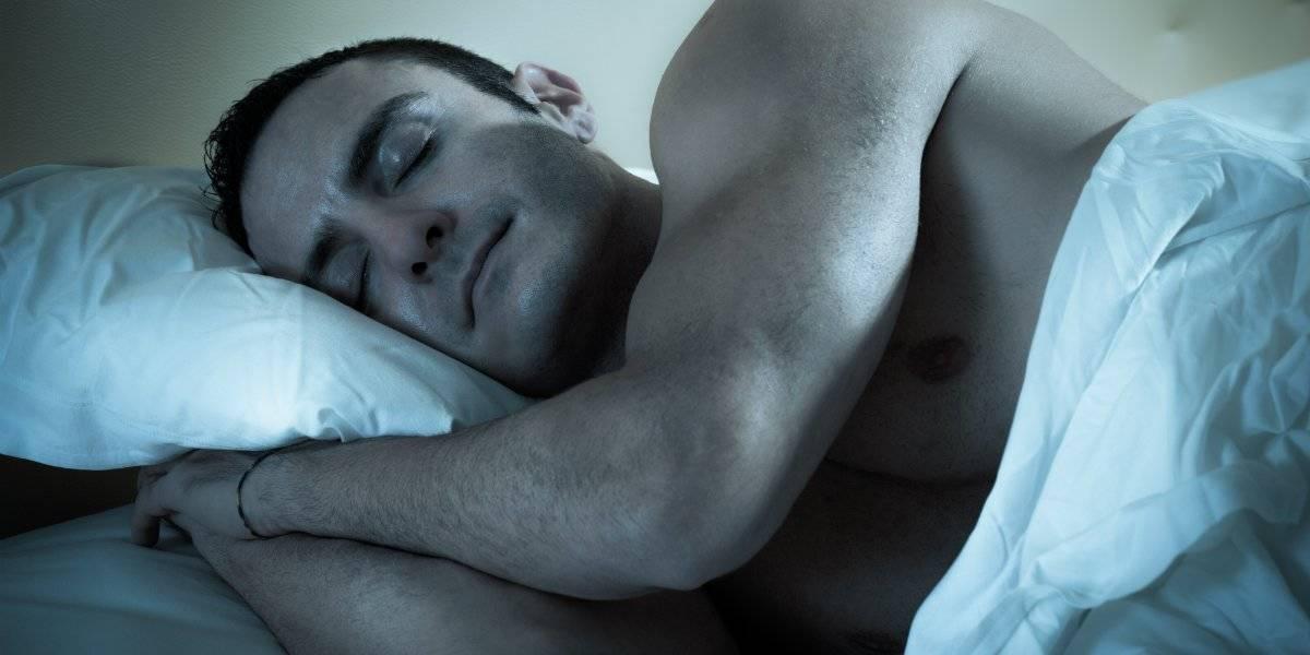 homem ganhar músculo dormir dormind