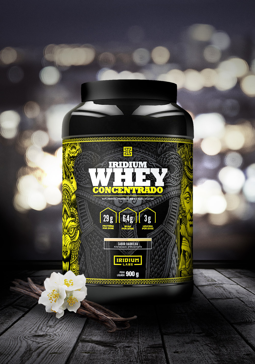Iridium Whey Concentrado