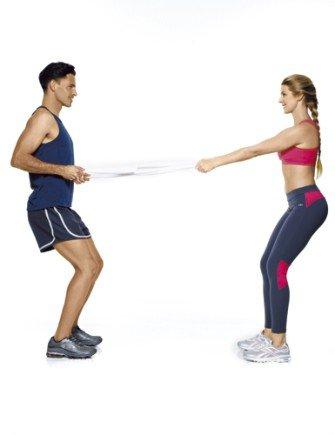exercicios casal parceira remada
