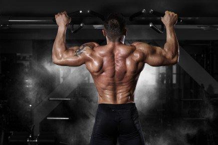 treinos de costas dorsais barra fixa