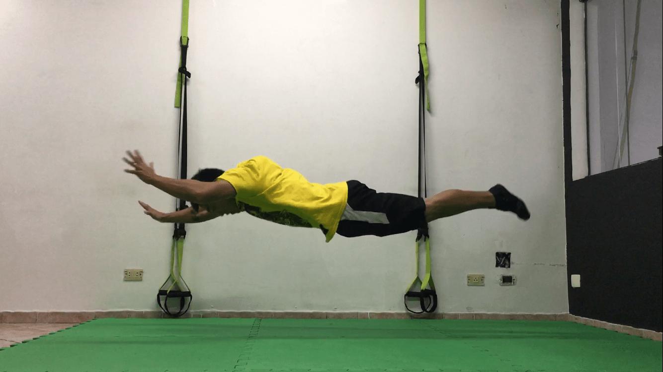 Flexão superman