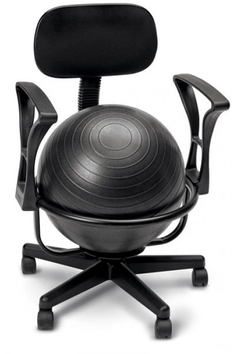 equipos swiss ball chair