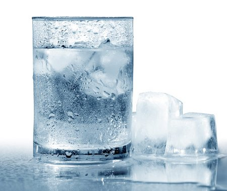 agua gelada
