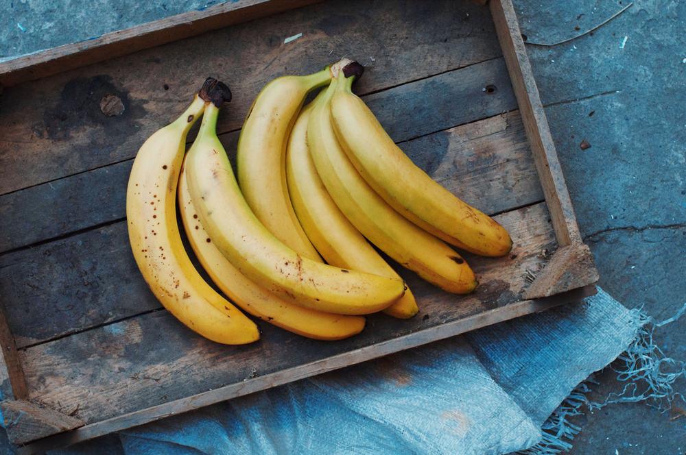 5 alimentos energéticos pré-treino - bananas