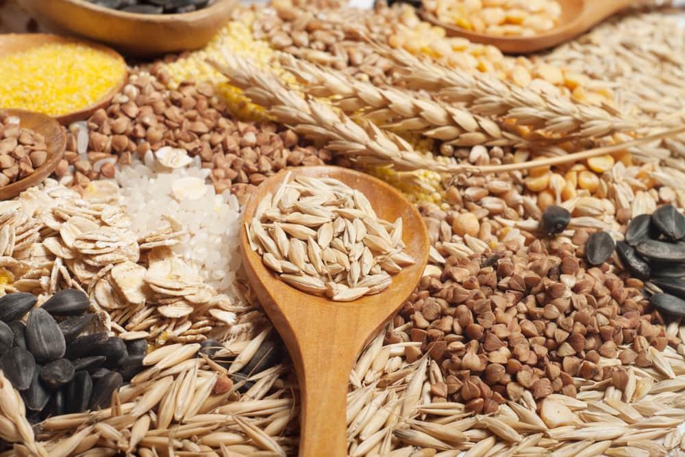 5 alimentos energéticos pré-treino - cereais integrais