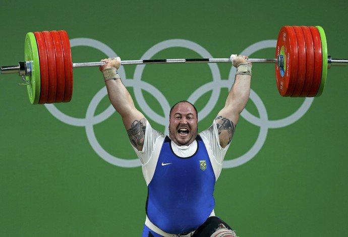 fernando reis olimpiadas lpo levantamento de peso