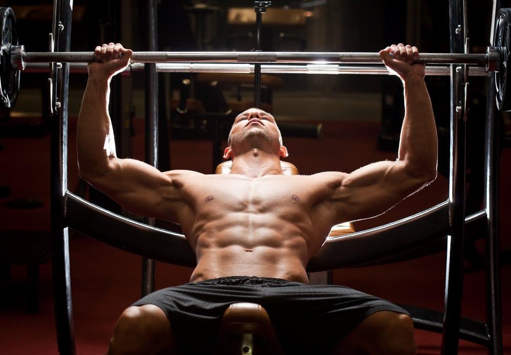 verdades musculação - supino