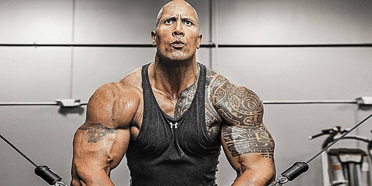 ele voltou 39 the rock 39 divulga seu treino para o filme. Black Bedroom Furniture Sets. Home Design Ideas