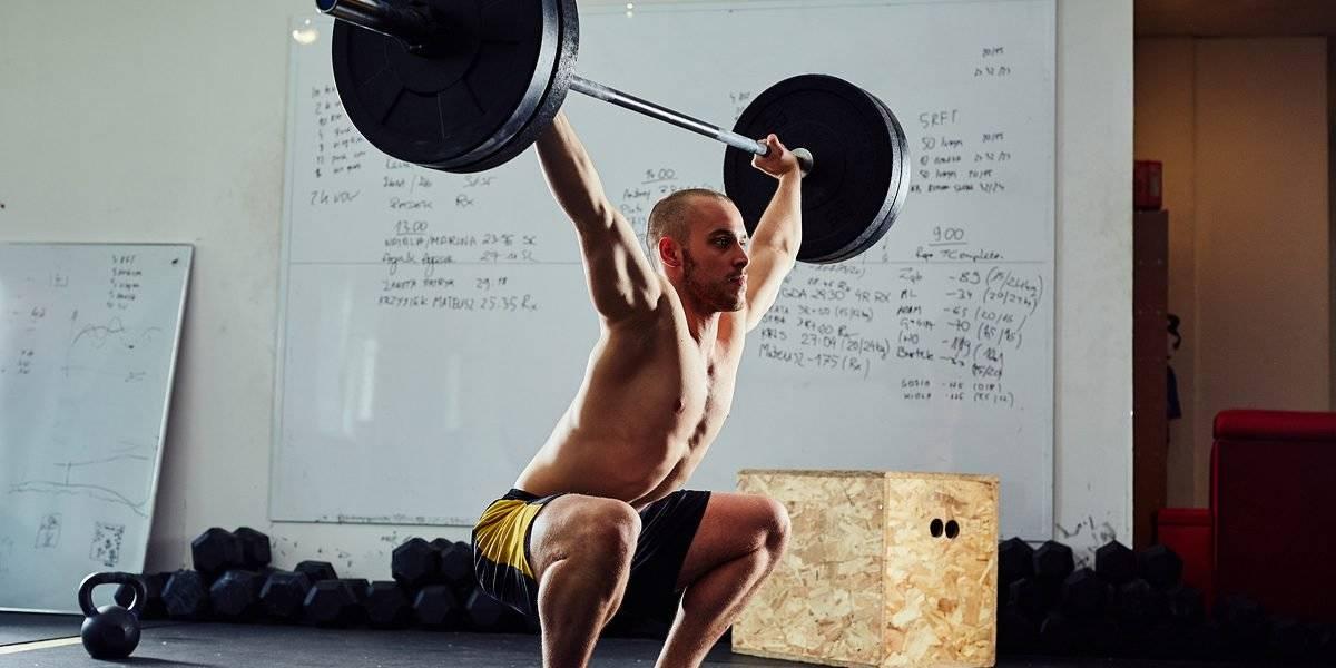 otimos exercicios - overhead squat