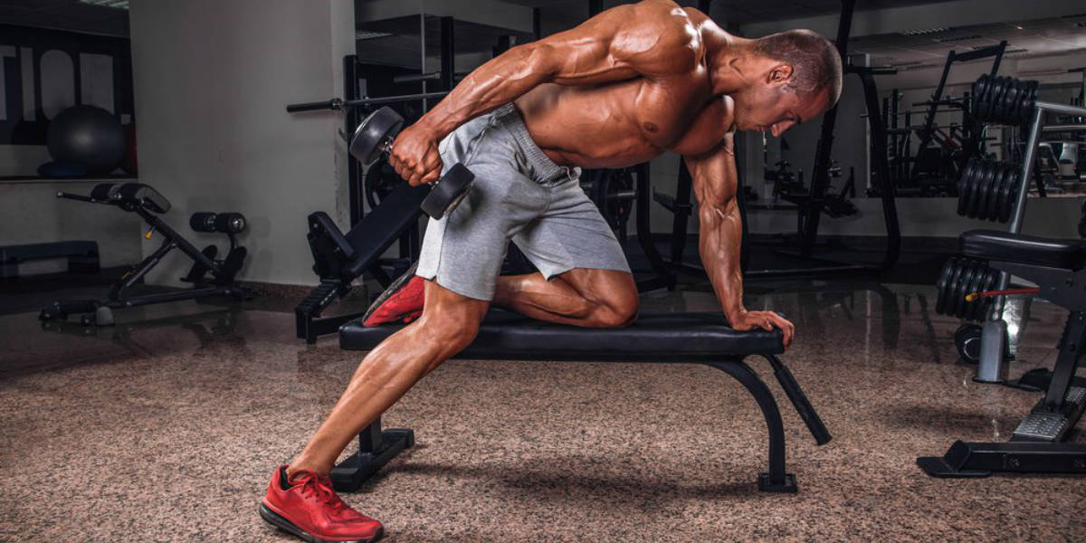 ajustes exercícios - remada unilateral
