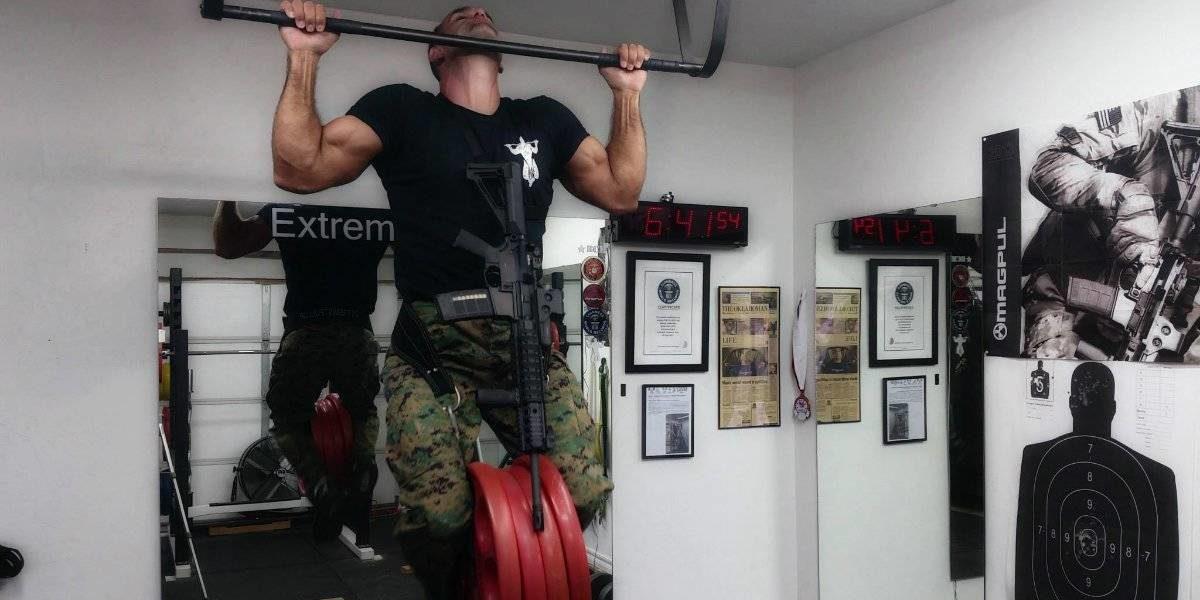 teste barra fixa exercito russia