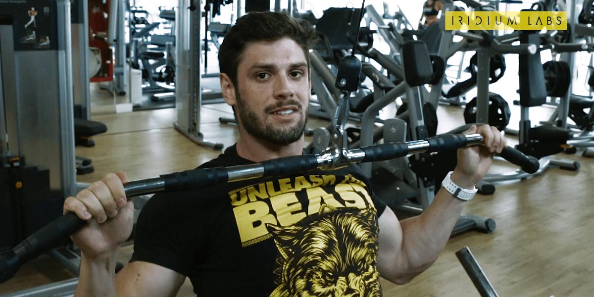 treino do pinho - costas e biceps