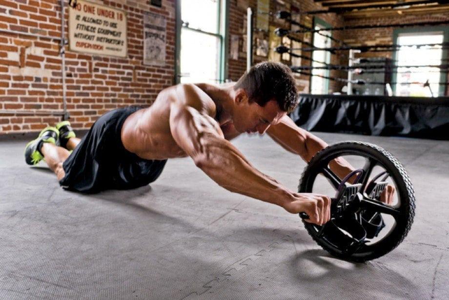 ab wheel roda abdominal abdominais