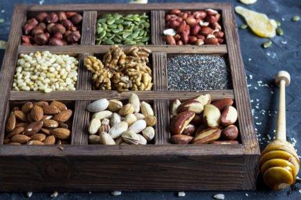 caloricos - sementes e castanhas e nozes