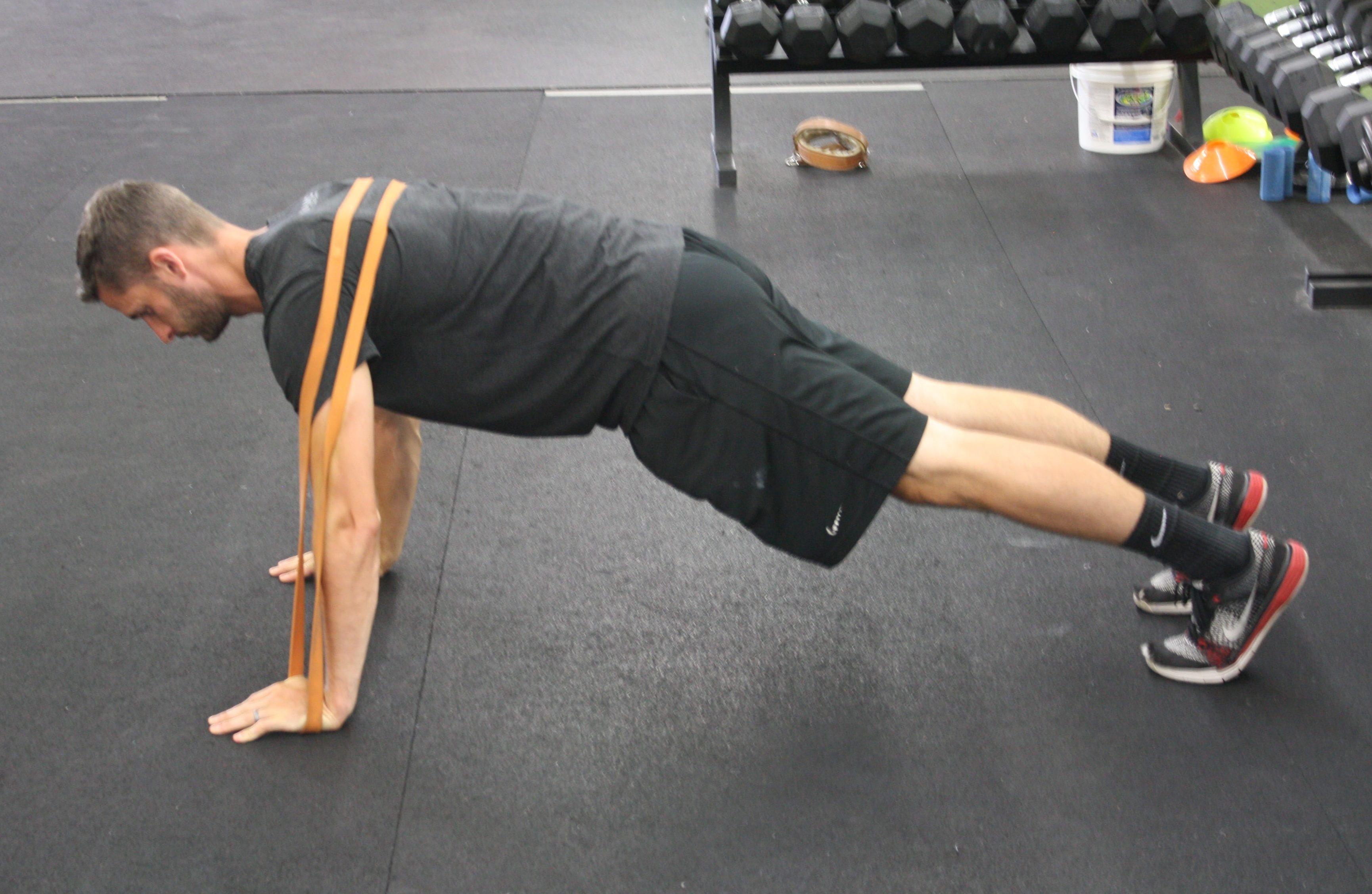 flexão variação - resistida
