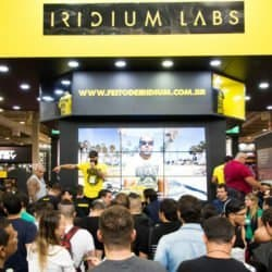 arnold classic south america 2017 - estande iridium labs