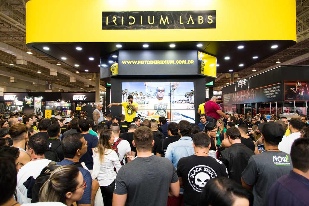 Arnold Classic - stand Iridium Labs