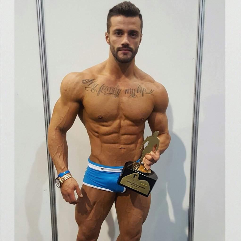 Gaston Zuniga foi campeão do Arnold Model Search