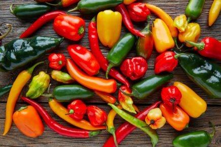 alimentos termogenicos - pimenta