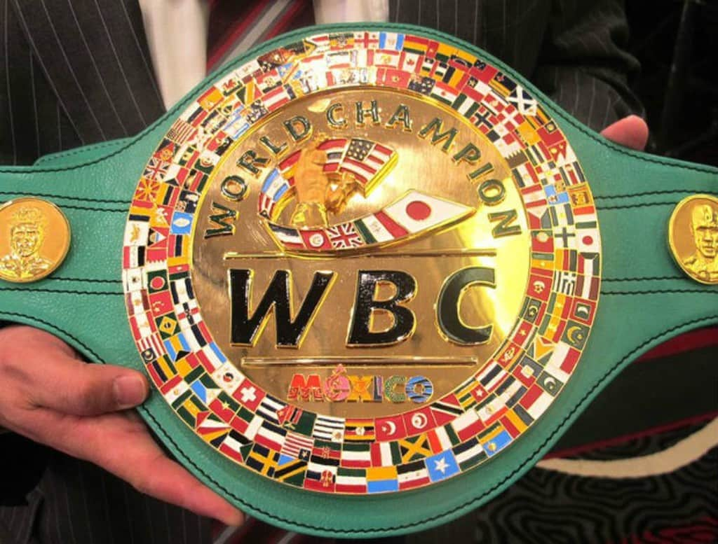 Cinturão WBC