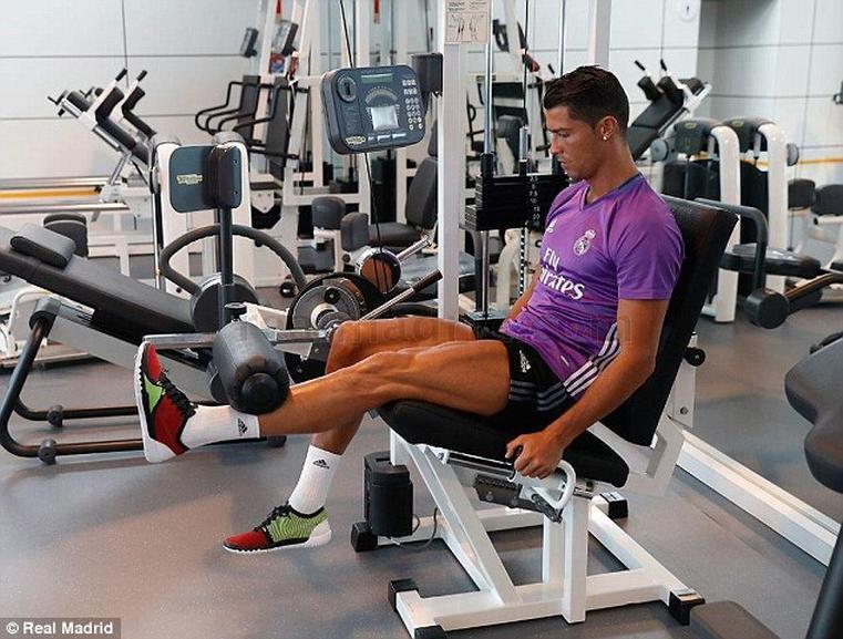 Cristiano Ronaldo - atletas musculação
