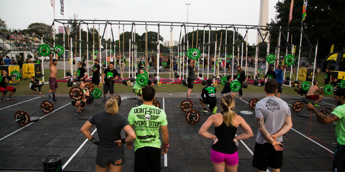 Kvra Games Iridium Labs - campeonato crossfit