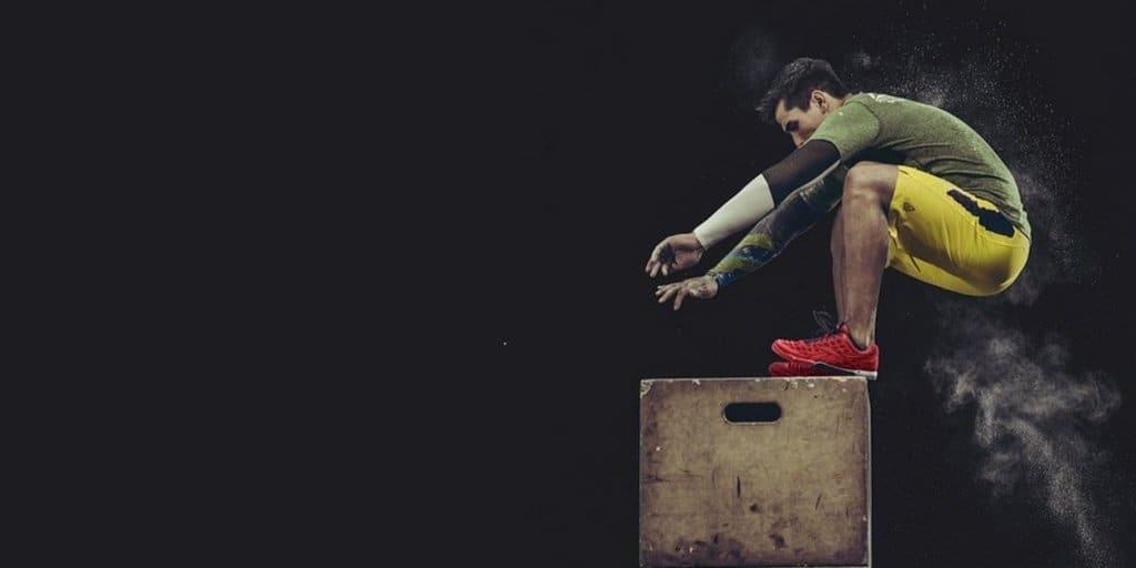 box jump salto na caixa