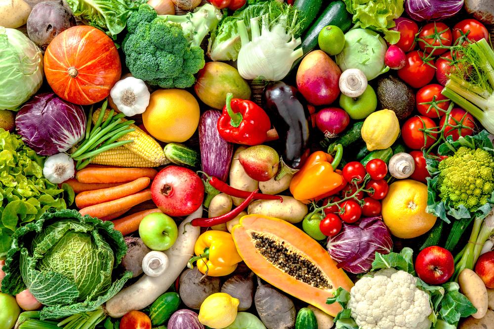 frutas verduras legumes vegetais