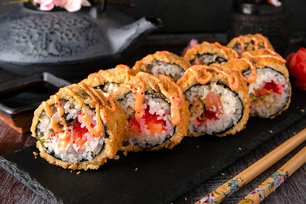 sushi comida japonesa brasileira