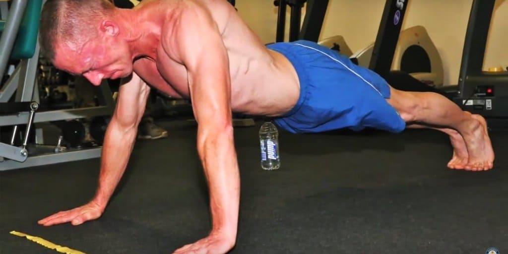 carlton william recorde mundial flexao