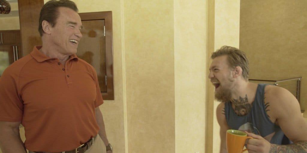 Conor McGregor e Arnold Schwarzenegger