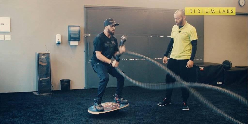 Treino de core ideal para quem surfa