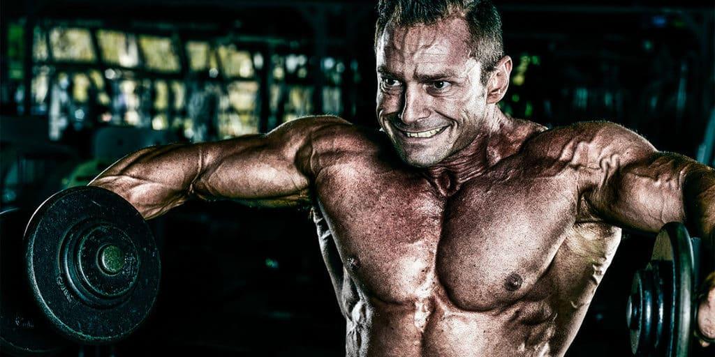 elevação lateral - treino ombro