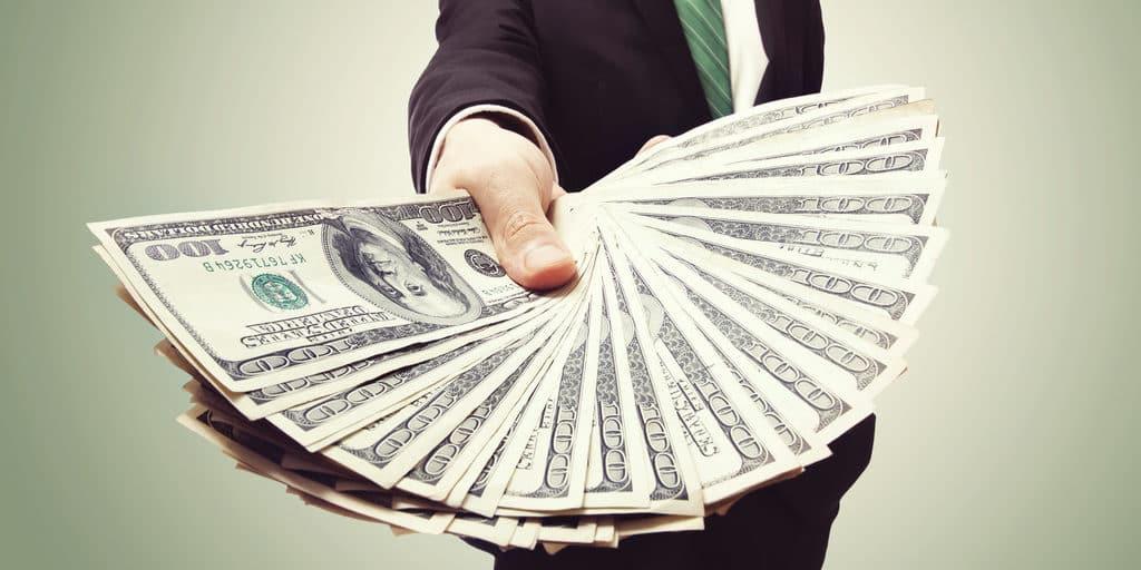 recompensa dinheiro