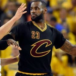 Stephen Curry e LeBron James