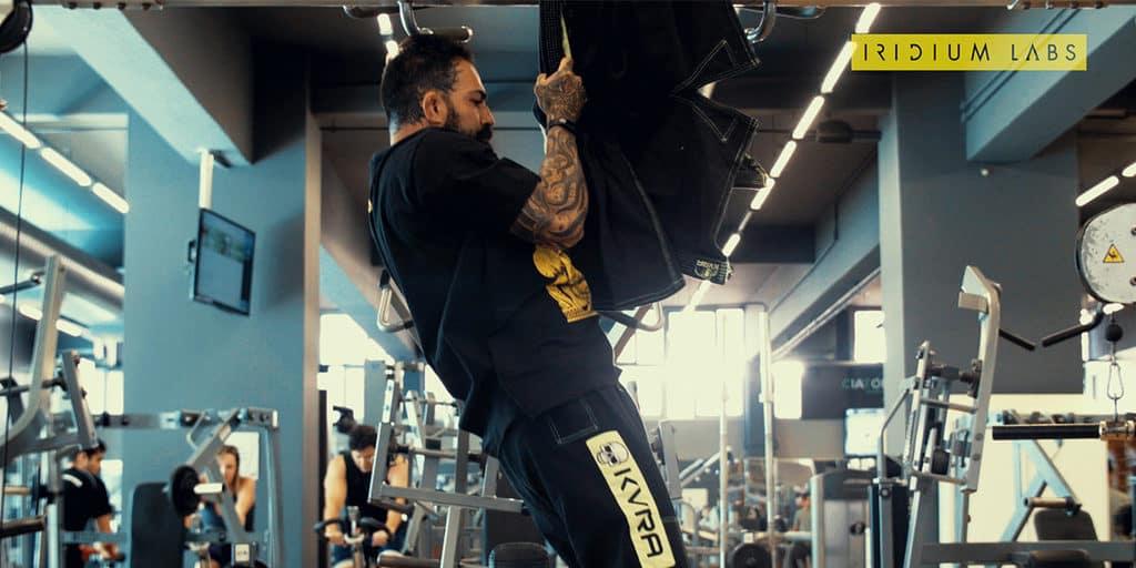 treino jiu-jitsu