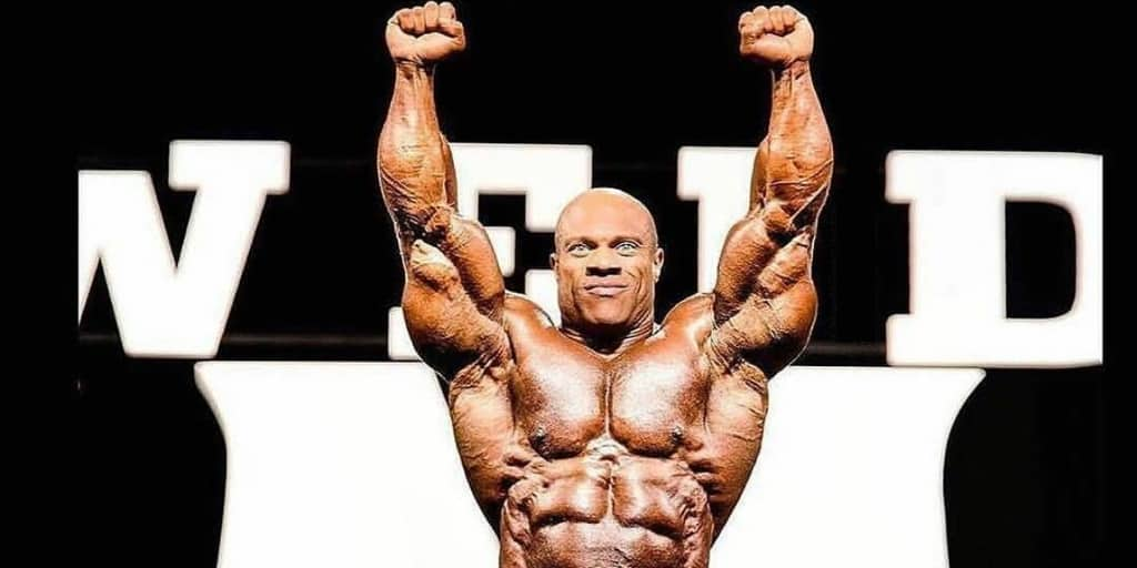 phil heath - mr. olympia 2017