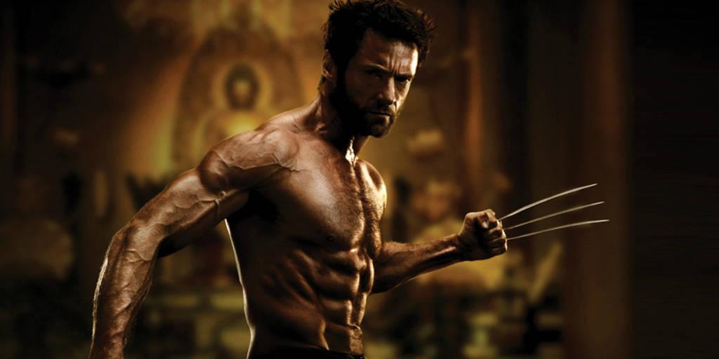 transformação corpo ator - hugh jackman wolverine