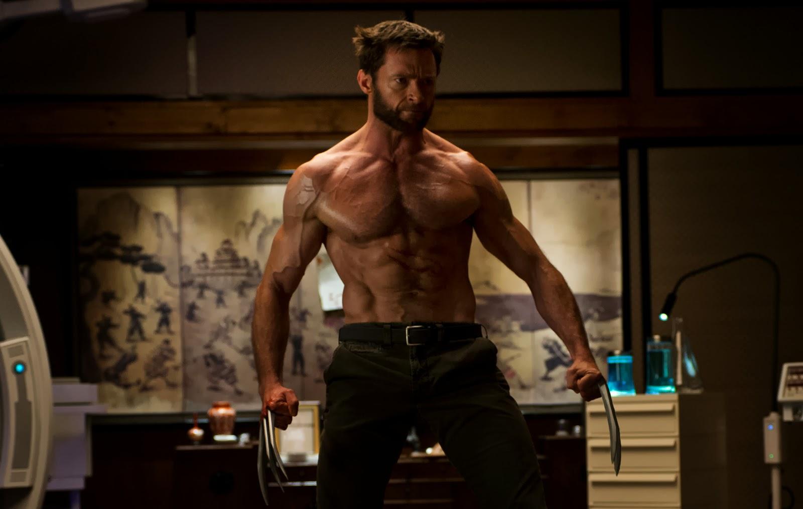 transformação corpo ator - hugh jackman