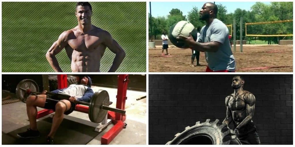 4 treinos atletas