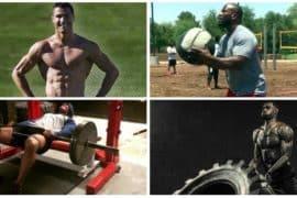 Retrospectiva: os 4 treinos mais insanos de atletas famosos em 2017