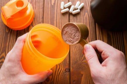 ganhos - whey protein