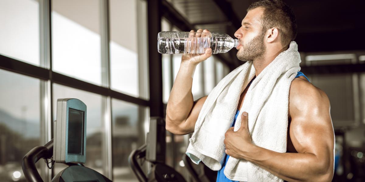 hidratação água