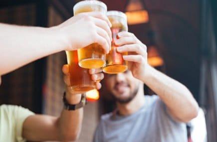 gordura bebida cerveja