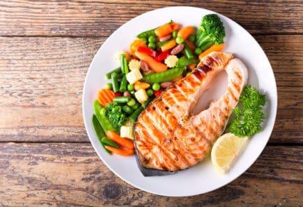 músculos - salmão