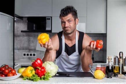 Bodybuilder, cozinha