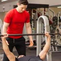 Parceiro, musculação, academia