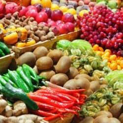 Vegetais, dieta