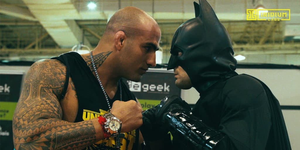 Desafio, Santo Forte, Batman