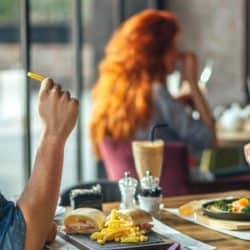 habitos saudaveis, comer fora